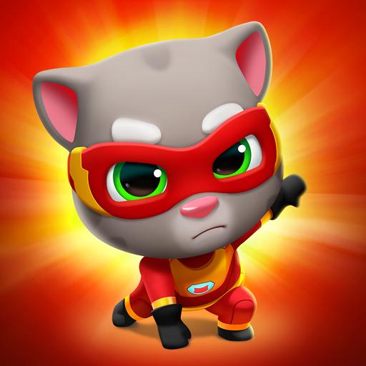 Talking Tom Hero Dash Apk Mod (Dinheiro Infinito) Atualizado